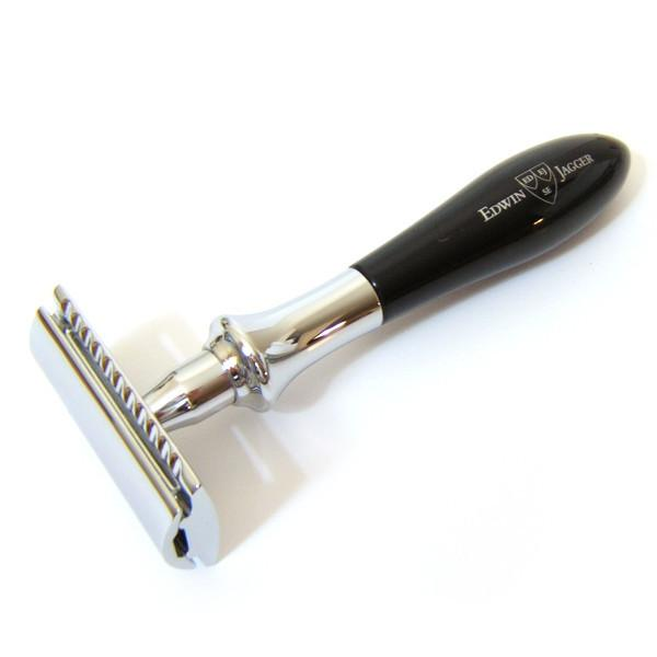 Edwin Jagger Plaza Classic Double-edge Razor with Imitation Ebony Handle - Fendrihan