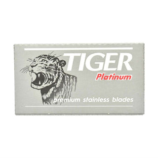 10 Tiger Platinum Double Edge Razor Safety Blades Razor Blades Other