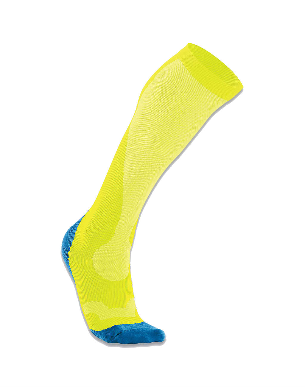 2XU Compression Run Socks (Men's)Fluoresent Yellow_master_image
