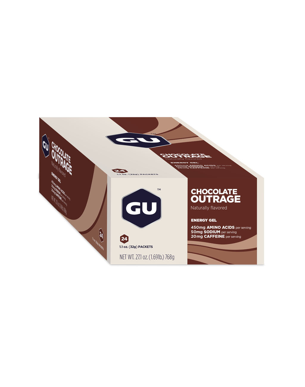 GU Energy Gel (24ct box)Chocolate Outrage_master_image
