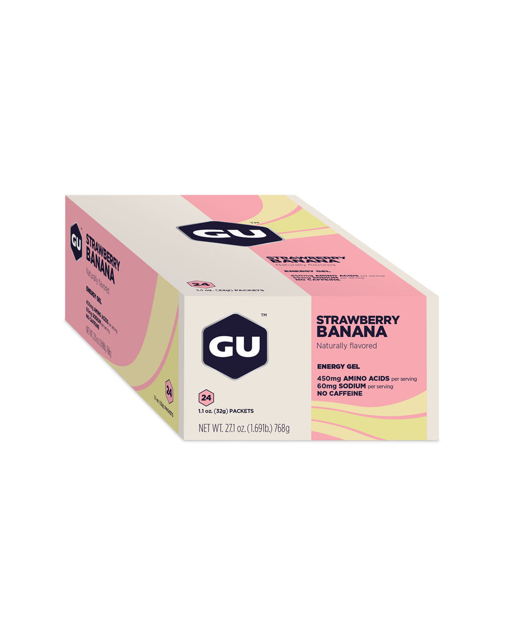 GU Energy Gel (24ct box)Strawberry Banana_master_image
