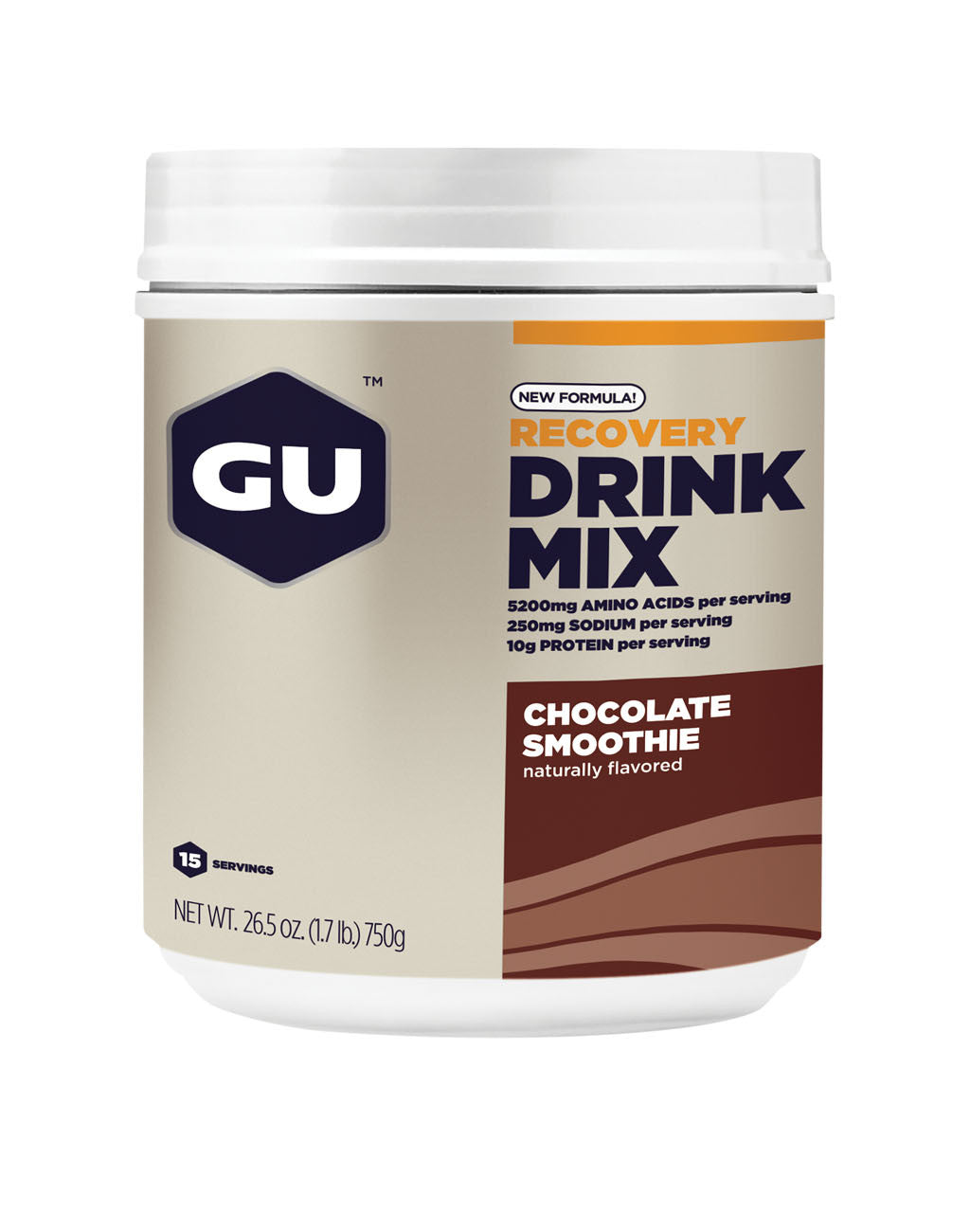 GU Recovery Drink Mix (15-serving)Chocolate Smoothie_master_image