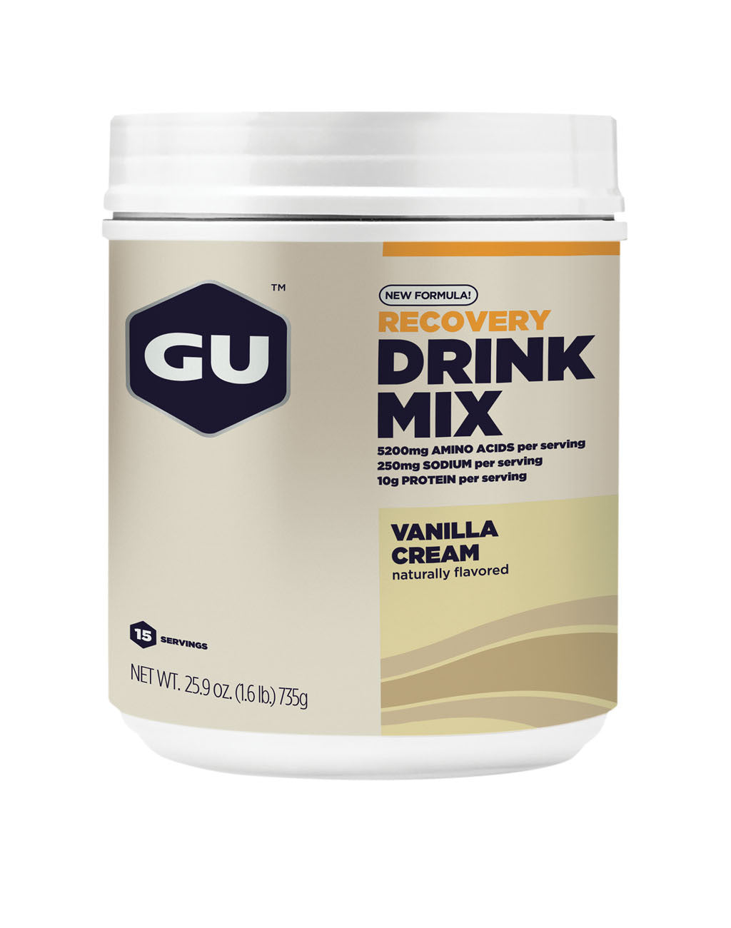 GU Recovery Drink Mix (15-serving)Vanilla Cream_master_image