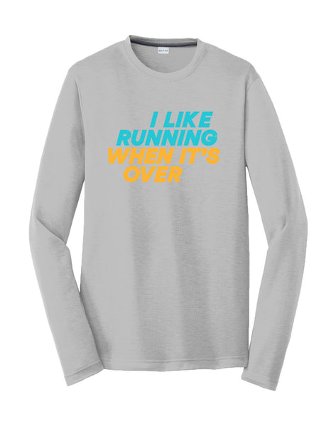 Runkeeper 'I Like Running' Long Sleeve Tee (Women's)_main_image