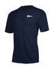 Runkeeper Men's - 'Rise & Run' Short Sleeve TeeNavy_alt_1
