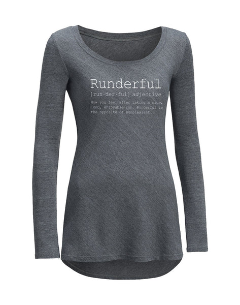 Runkeeper 'Runderful' Long Sleeve Tee (Women's)_main_image