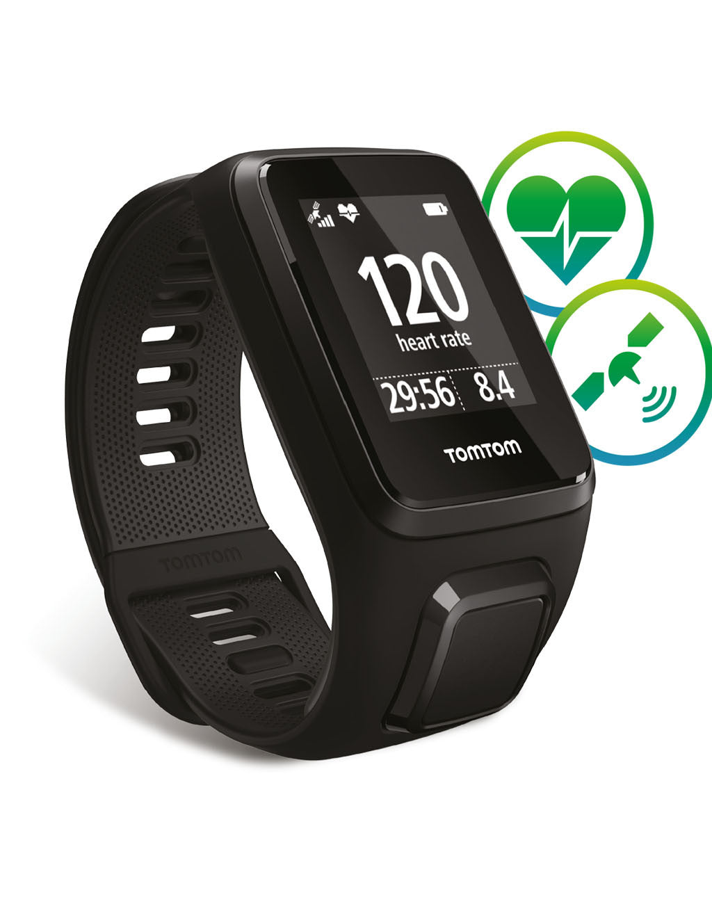TomTom Spark3 Cardio GPS Fitness WatchBlack_master_image