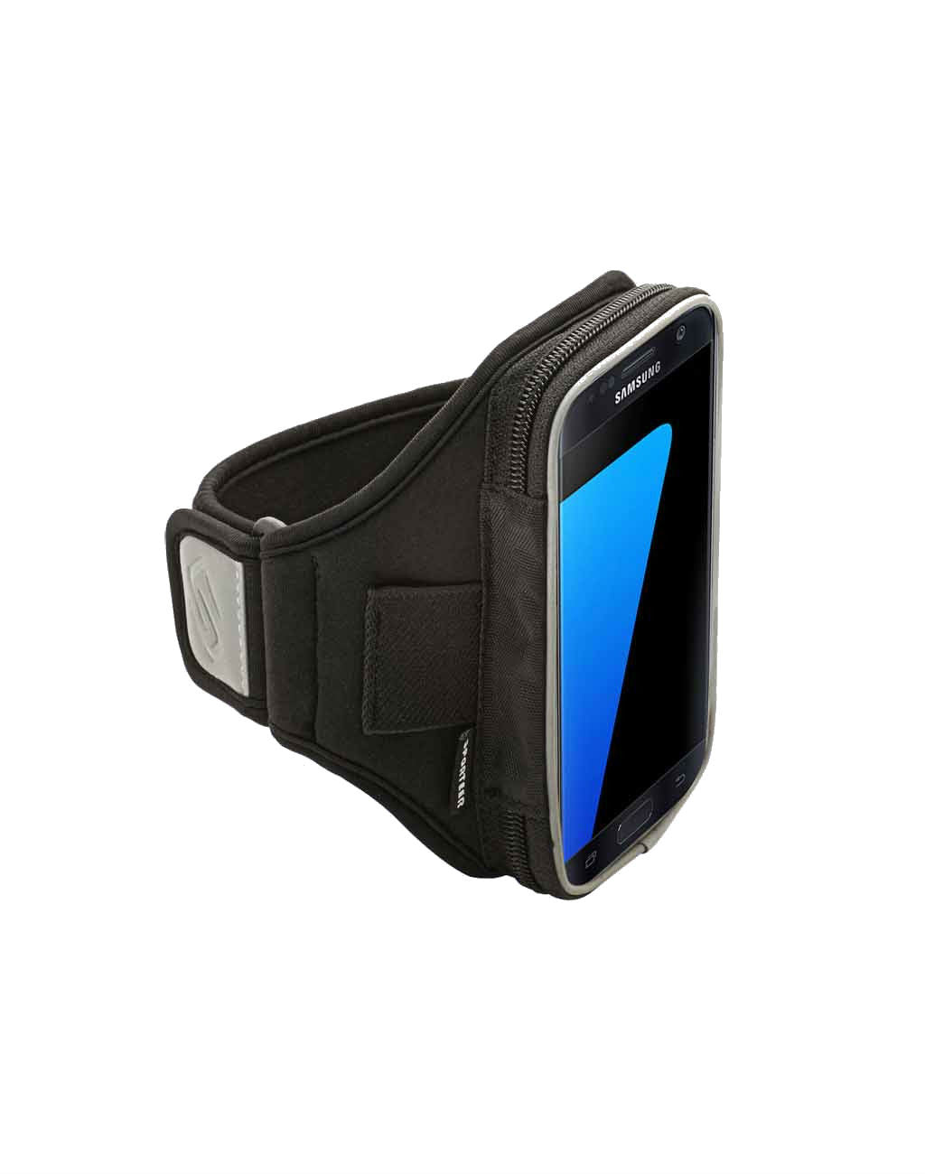 Velocity V150 Armband for iPhone 7 & 6/6S or Galaxy S7 Edge/S7 with CasesBlack_master_image