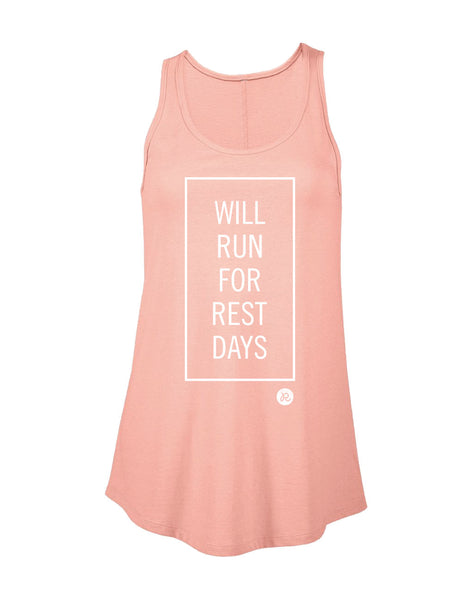Runkeeper 'Will Run for Rest Days' Tank Top (Women's)_main_image