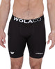 Wolaco North Moore Compression Shorts 9in (feat. Runkeeper)Black_alt_1