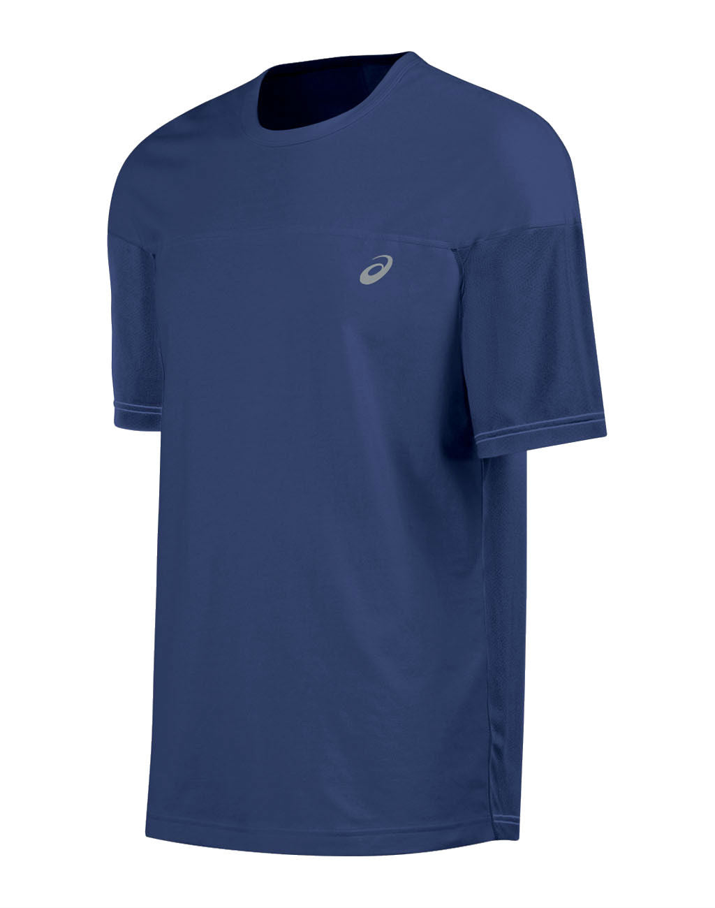 ASICS ASX Dry Short Sleeve Top (Men's)Navy_master_image