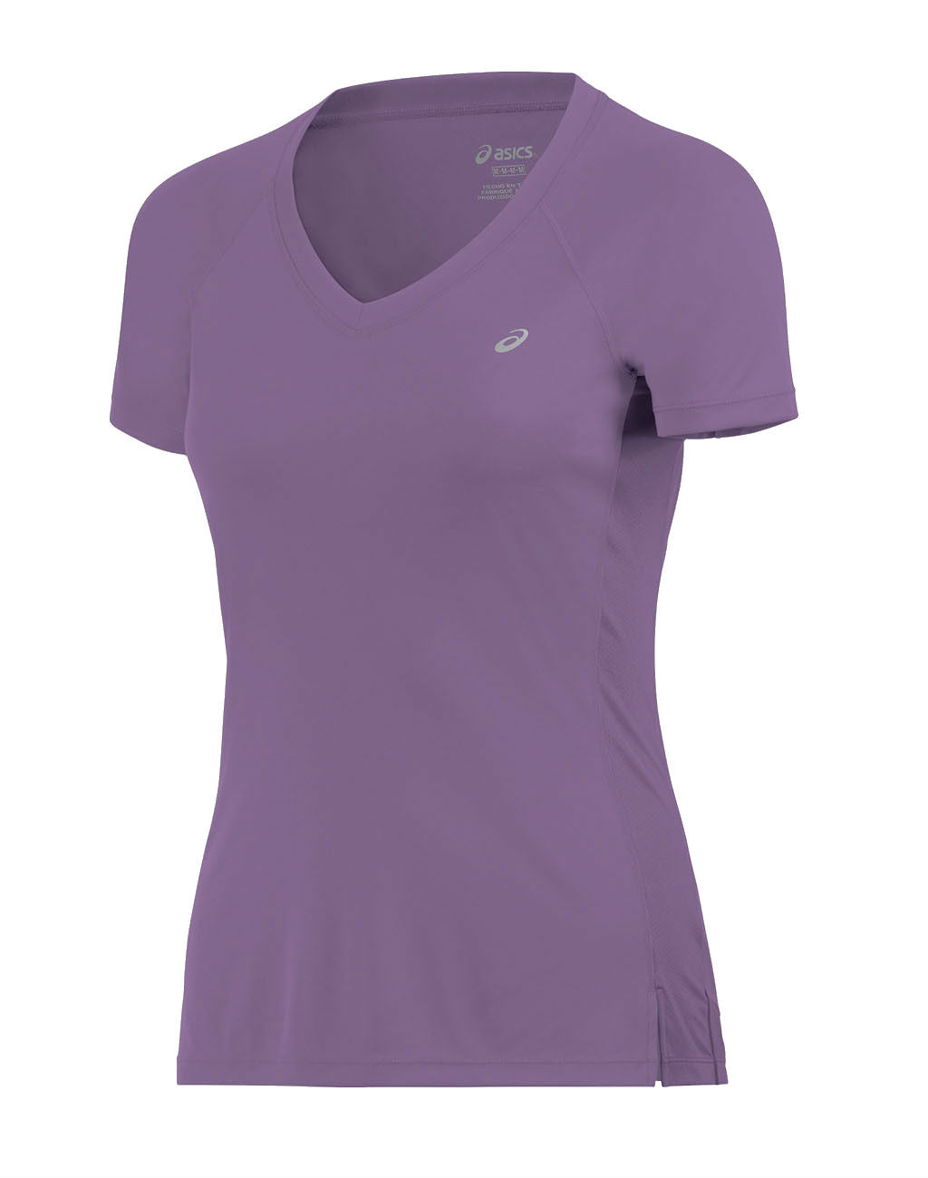 ASICS ASX Dry Short Sleeve Top (Women's)Purple_master_image