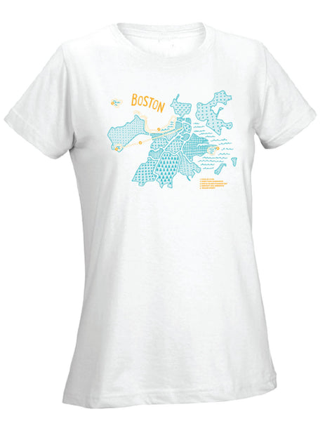 Runkeeper Boston is for Runners Tee (Women's)_main_image