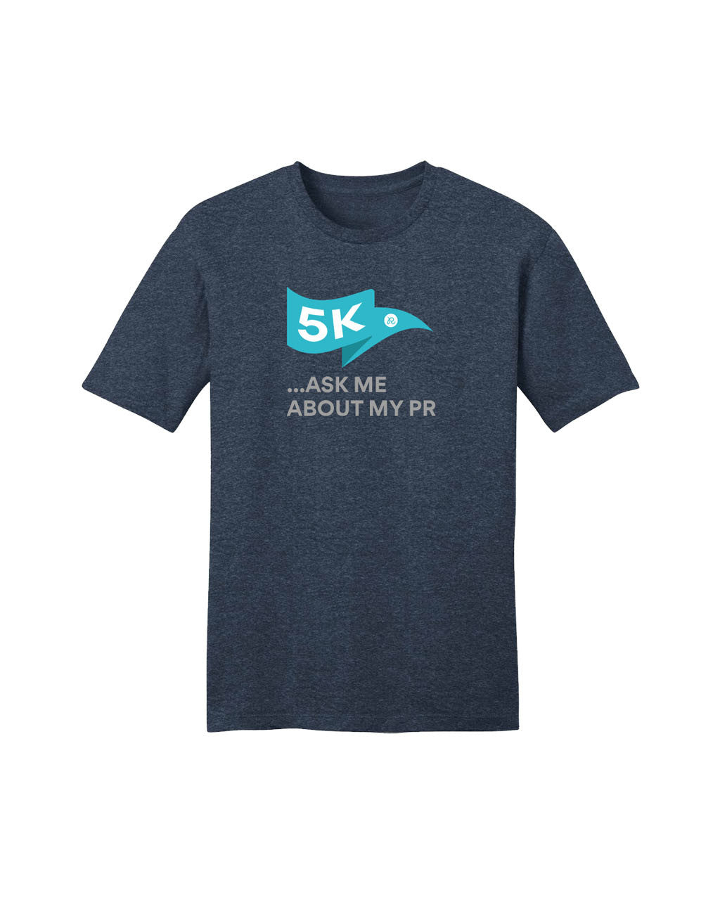Runkeeper 5K Ask Me about My PR (Men's)Heather Navy_master_image