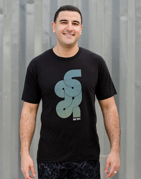 Global 5K - Men's 'G5K' Cotton Blend Tee