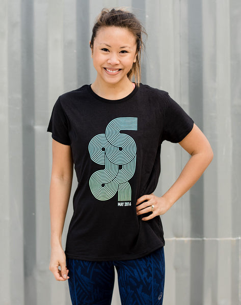 Runkeeper Global 5K - Women's 'G5K' Cotton Tee_main_image