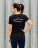 Runkeeper Global 5K - Women's 'G5K' Cotton TeeBlack_alt_2