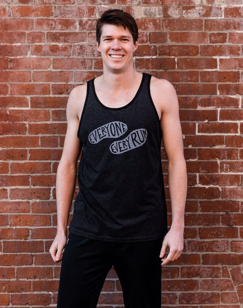 Runkeeper Everyone. Every Run. Tri-blend Tank Top_main_image