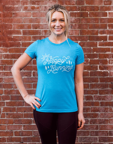 Runkeeper Happy Running Short Sleeve Tee_main_image