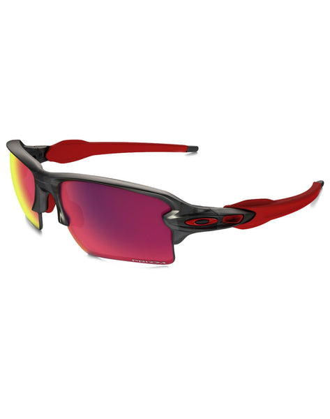 Oakley Flak 2.0 XL Prizm Road Matte Grey Smoke Sunglasses (Men's)_main_image