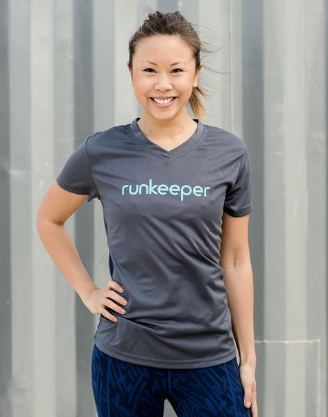 Women's - Runkeeper Wordmark Tech Tee