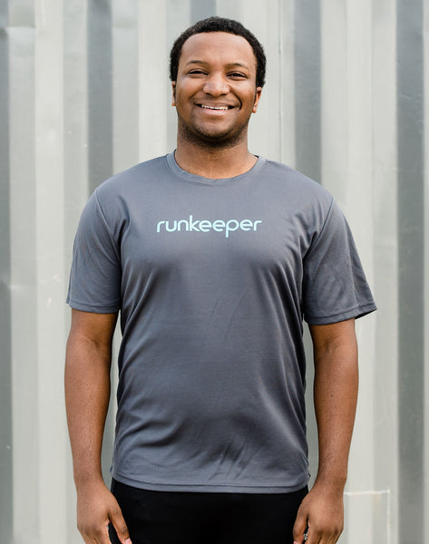 Men's - Runkeeper Wordmark Tech Tee