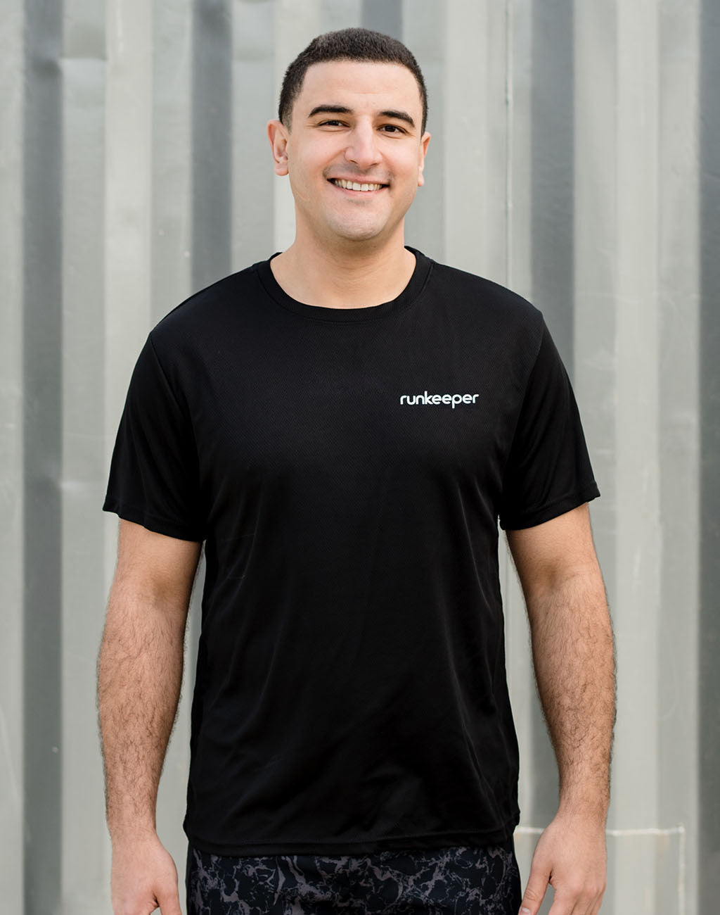 Runkeeper Men's - Tech TeeBlack_master_image