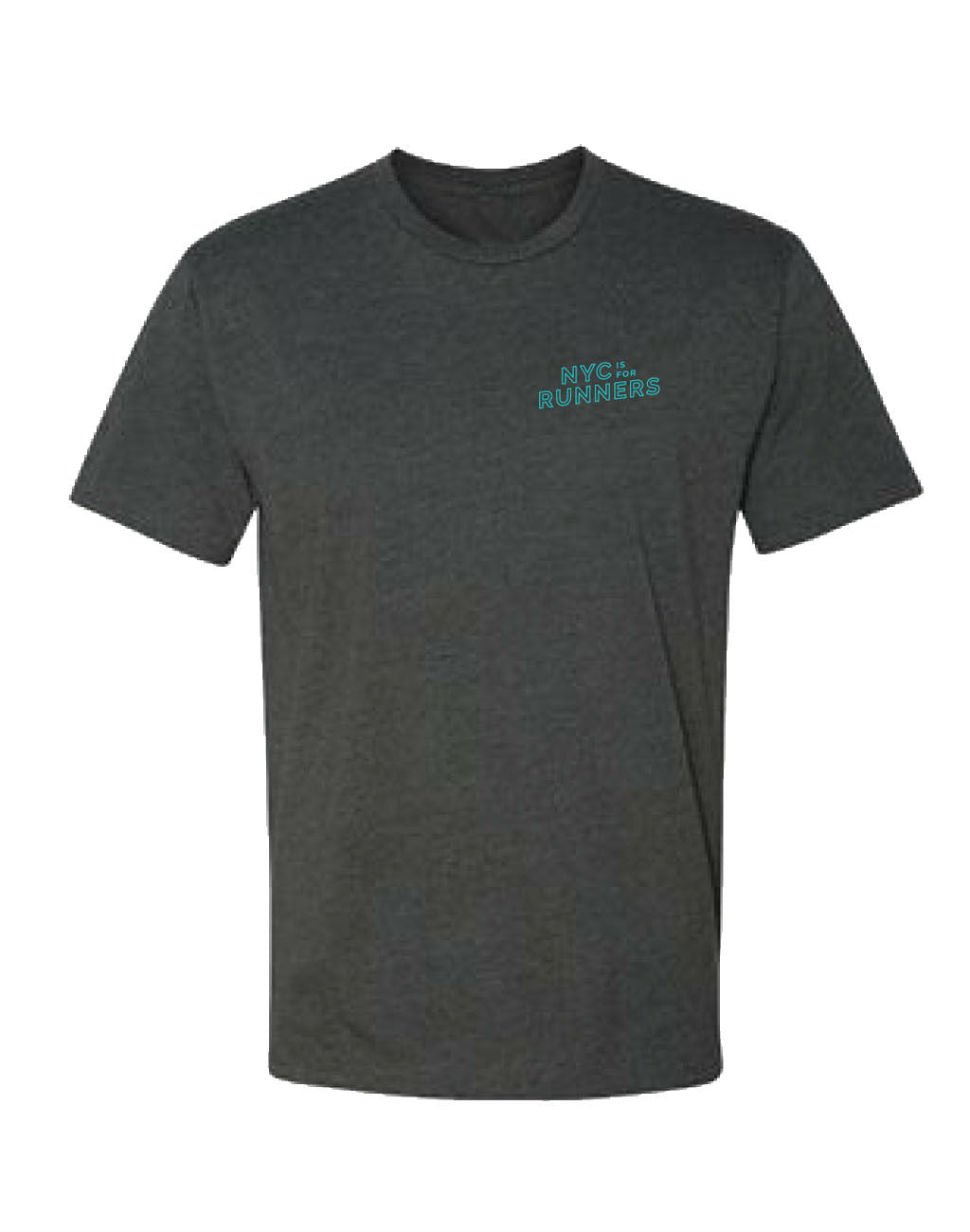 Runkeeper NYC is for Runners Tee (Men's)Charcoal Grey_master_image