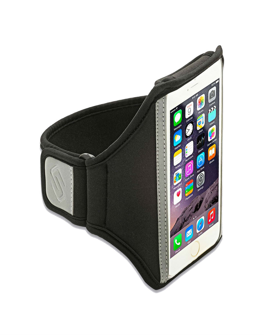 Sporteer Armband for iPhone SE and iPhone 5S, iPhone 5C, and iPhone 5Black_master_image