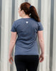 Women's - 'Sunday Runday' Short Sleeve Tee Women's T-Shirt - Runkeeper Official StoreNavy_alt_3
