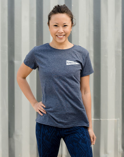 Women's - 'Rise & Run' Short Sleeve Tee