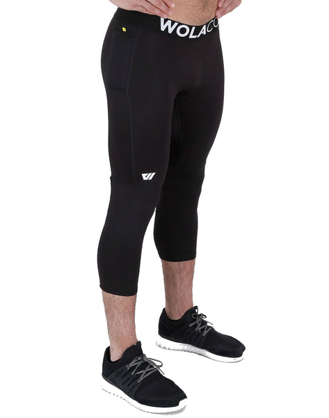 Wolaco Fulton 3/4 Compression Tights
