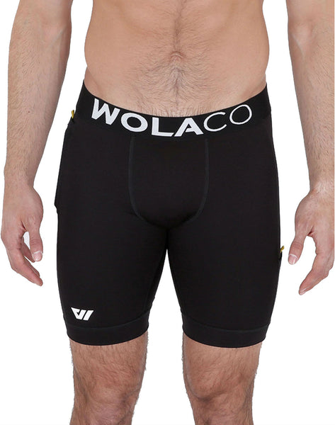 Wolaco North Moore Compression Shorts 9in
