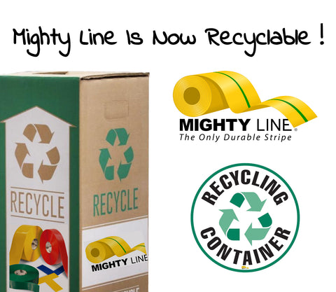 Mighty Line Floor Tape Recycle Program