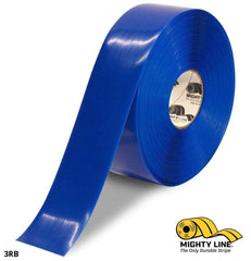 3 Blue Solid Color Tape - 100 Roll Safety Floor Product