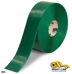 3 Green Solid Color Tape - 100 Roll Safety Floor Product
