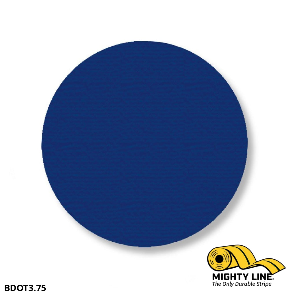 3.75 Blue Solid Dot - Pack Of 100 Floor Marking Product