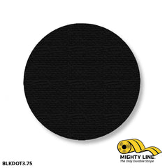 3.75 Black Solid Dot - Pack Of 100 Floor Marking Product