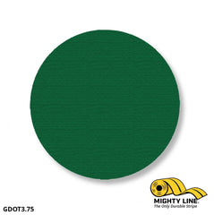 3.75 Green Solid Dot - Pack Of 100 Floor Marking Product