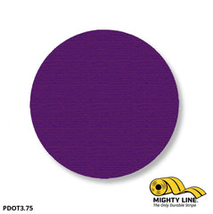 3.75 Purple Solid Dot - Pack Of 100 Floor Marking Product