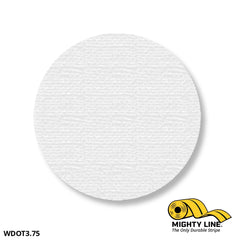 3.75 White Solid Dot - Pack Of 100 Floor Marking Product