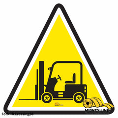Forklift Crossing - Floor Marking Sign 36 Product