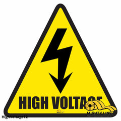 High Voltage Area Floor Sign - Marking 12 Product