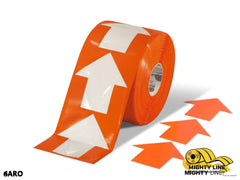 4 Wide Solid Orange Arrow Roll 280 Arrows Product