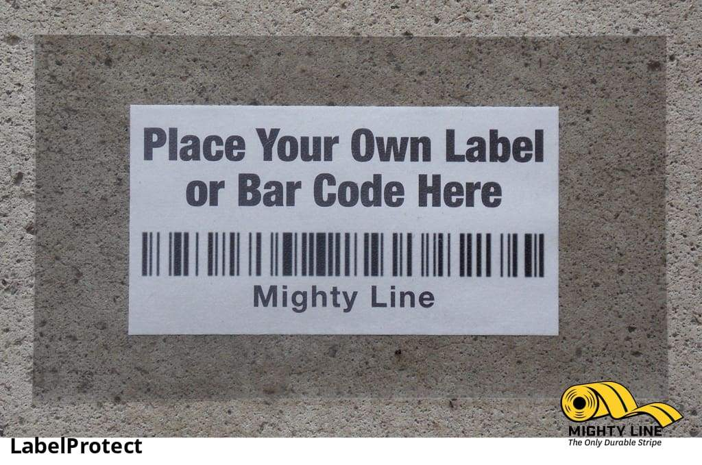 Mighty Line Label Protectors - Pack Of 100 Floor Marking Product
