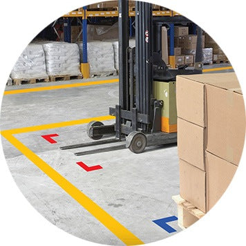 Mighty Line Offers The Strongest Floor Tape, Floor Signs, 5s Floor Markings  And Other 5s Floor Tape Products For Your Facility. At Mighty Line Floor  Tape, ...