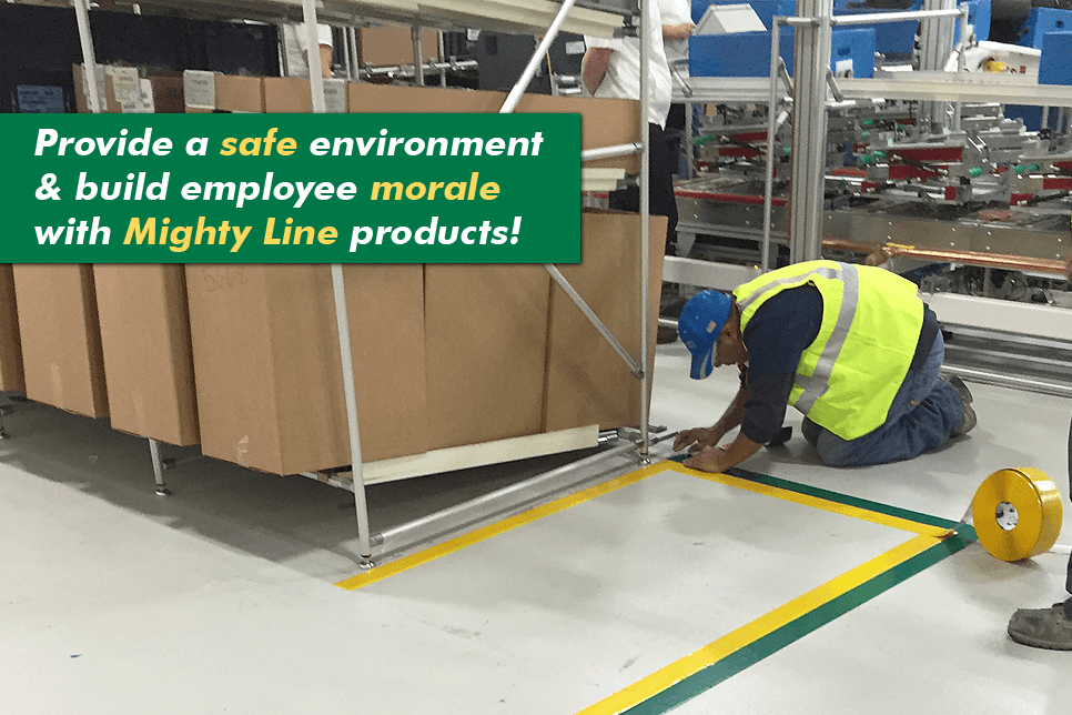 High Quality Mighty Line Floor Tape