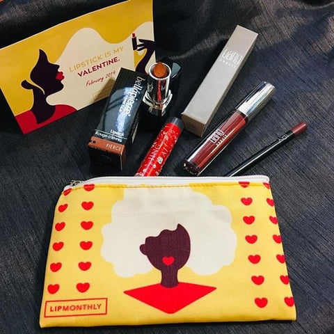 Lip Monthly - February Beauty Subscription Bag