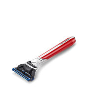 Morris Park Collection 5 Blade Razor - Signal Red