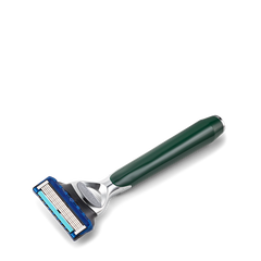 Morris Park Collection British Racing Green 5 Blade Razor